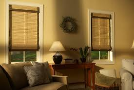 Bedroom And Living Room Designs Living Room Woven Woods Bamboo Shades In Vermont Gordons Window