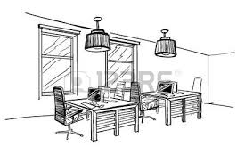 architecte d int ieur bureaux illustration du bureau de l espace ouvert architecture d intérieur