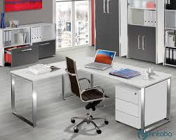 B O Schreibtisch Kaufen Büro Schreibtisch Höhenverstellbarermit Edelstahlgestell Fintabo De