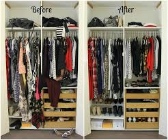 Before And After Organizing by How To Re Organize Your Wardrobe