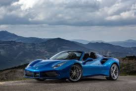 blue ferrari 488 spider ferrari 2015 blue all about gallery car