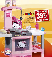 cuisine smoby hello cora promotion cuisine hello cheftronic smoby cuisines
