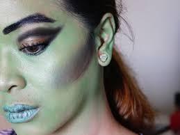 How To Apply Halloween Makeup by How To Apply Green Witch Makeup Saubhaya Makeup