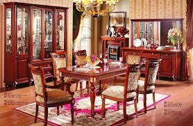 Red Dining Room Set by 11pc Mahogany Dining Room Set Chippendale China Buffet Ebay