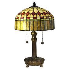 antique tiffany table ls springdale lighting 2 light 20 in mayor island antique bronze table