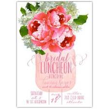 bridal lunch invitations bridemaid bridal luncheon lunch poppies floral flowers chic