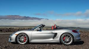 porsche boxster s 981 review 2016 porsche boxster spyder review and test drive with horsepower