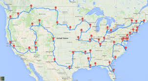 Triangular Trade Map A Data Genius Computes The Ultimate American Road Trip The