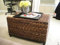 wicker trunks with coffee tables make your own wicker trunks