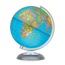 small desk globes amazon com illuminated world globe for kids with stand built in