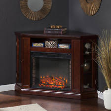 Corner Tv Stands With Electric Fireplace by Corner Fireplace Tv Stand Ebay