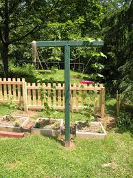 harleysville homestead hop trellis build part 2