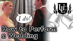 how to perform a wedding ceremony in 4 simple steps youtube