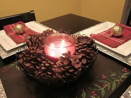 Red Home Decor Accessories Astounding Home Decor Accessories Table With Christmas Centerpiece