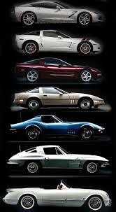 corvette stingray evolution evolution of corvettes http drivebaby com cars vintage