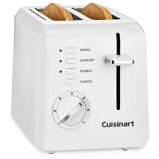 Cuisinart Toaster 4 Slice Stainless Cuisinart 4 Slice Compact Toaster White Cpt 142 Target