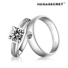 diamond couple rings images Perfect extremely high simulation flash top diamond ring diamond jpg