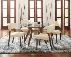 infini furnishings sara 5 piece dining set u0026 reviews wayfair