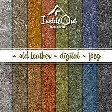 leather scrap book leather scrapbook paper leather digital paper suede digital