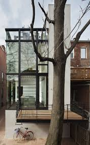 Modern Row House by Barcode House Design By David Jameson Architect Architecture