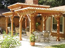 i love the stately effect of this three level pergola it gives a