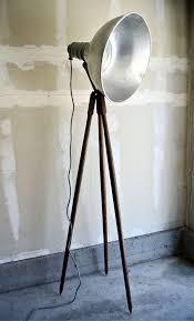 best 25 wooden tripod floor lamp ideas on pinterest industrial