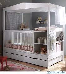 chambre bébé vertbaudet lit bébé enfant évolutif vertbaudet baldaquin blanc a vendre