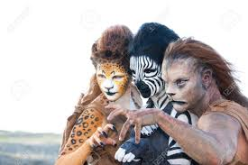 special effects make up three animal special effects make up creations by racye