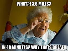 Runner Meme - runner