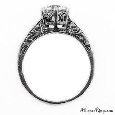 lotus engagement ring 041fr vintage filigree engagement ring for a
