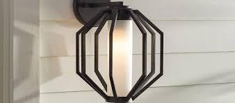 Outdoor Led Light Fixtures Modern Outdoor Lighting Allmodern