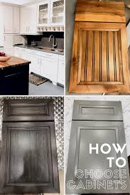 how to choose kitchen cabinets for your home u2014 first thyme mom