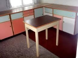 küche 50er 50er jahre küche küchenmöbel mit waschtisch tisch forst
