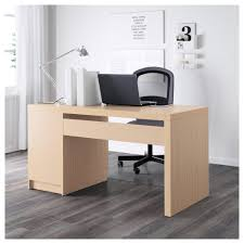 Oak Veneer Computer Desk Computer Desk Malm Desk White Stained Oak Veneer 0530965