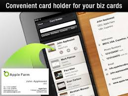 Business Card Capture App Business Card Reader Hd On The App Store