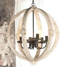 childrens bedroom chandelier distressed wood sphere indoor outdoor