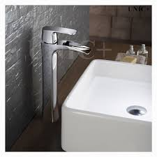Bathroom Fixtures Vancouver Bc Waterfall Style Solid Brass Bathroom Vessel Sink Faucet Bvf004 In