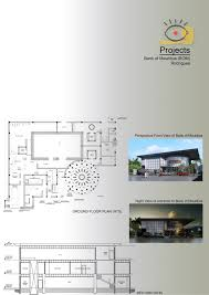 Floor Plan Of A Bank by Bank Of Mauritius Rodrigues Pixel Creation Ltee
