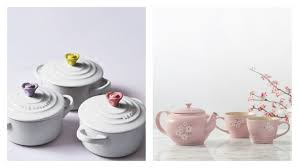 le creuset beauty and the beast le creuset s flower cookware is here in time for spring