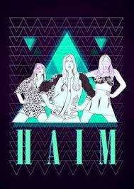 haim poster haim band poster electric bugle band posters inspiration