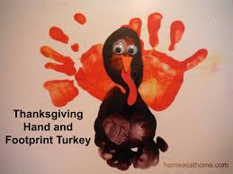 thanksgiving handprint craft how to make a thanksgiving handprint and footprint turkey craft