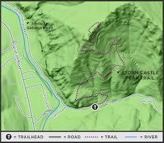 Big Sky Montana Trail Map by On The Trail Storm Castle Peak Trail Explore Big Sky