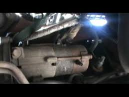 chevy tahoe starter replacement youtube