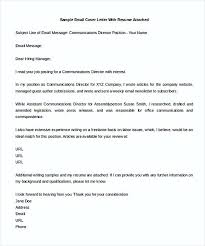 email cover letter writing the cover letter improve it by following these steps
