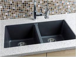 Granite Composite Kitchen Sinks Of A Stunning Granite Kitchen - Kitchen sinks granite composite