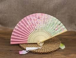 japanese fan 2017 new japanese silk fan classical folding fan cherry