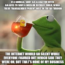 Alligator Meme - but thats none of my business meme imgflip