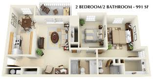 Reafield Village Apartments by Awesome 2 Bedroom 2 Bathroom Apartments Contemporary Home Design