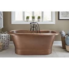 Copper Bathtubs For Sale Sinkology Euclid 6 Foot Handmade Antique Copper Freestanding Tub