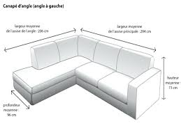 canape d angle 3 metres canape dimensions canape 3 places lovely canapac 2 dimension dun